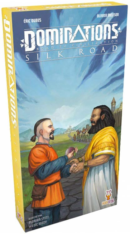 Dominations Extension : Silk Road (Fr)