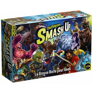 Smash Up Extension: The Big Box For Geek (Fr)