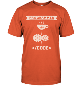 Programmer Turns Coffee Into Code T-Shirt - Bekker Clothing