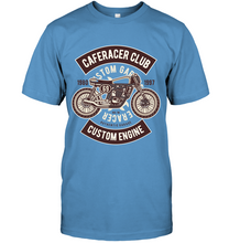 Load image into Gallery viewer, Caferacer Club Bike T-Shirt - Bekker Clothing