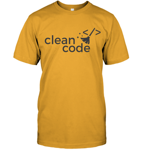 Clean Code T-Shirt - Bekker Clothing