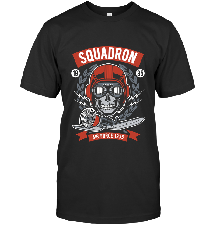 Squadron Air Force T-Shirt - Bekker Clothing