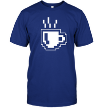 Load image into Gallery viewer, 8 Bit Coffee T-Shirt - Bekker Clothing