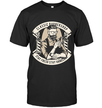 Load image into Gallery viewer, Classic Barbershop T-Shirt - Bekker Clothing