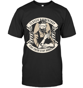 Classic Barbershop T-Shirt - Bekker Clothing