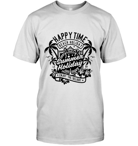 Happy Time Summer Holiday T-Shirt - Bekker Clothing