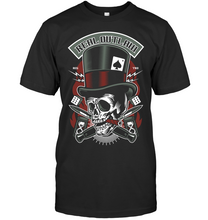 Load image into Gallery viewer, Real Outlaw Skull T-Shirt - Bekker Clothing