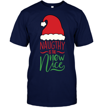 Load image into Gallery viewer, Naughty is the new Nice T-Shirt - Bekker Clothing