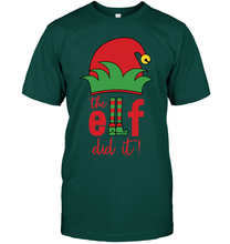 Load image into Gallery viewer, The Elf did It T-Shirt - Bekker Clothing