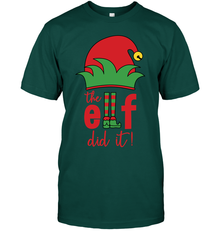 The Elf did It T-Shirt - Bekker Clothing