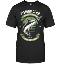 Load image into Gallery viewer, Fishing Club T-Shirt - Bekker Clothing