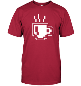 8 Bit Coffee T-Shirt - Bekker Clothing