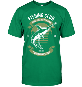 Fishing Club T-Shirt - Bekker Clothing