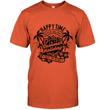 Load image into Gallery viewer, Happy Time Summer Holiday T-Shirt - Bekker Clothing