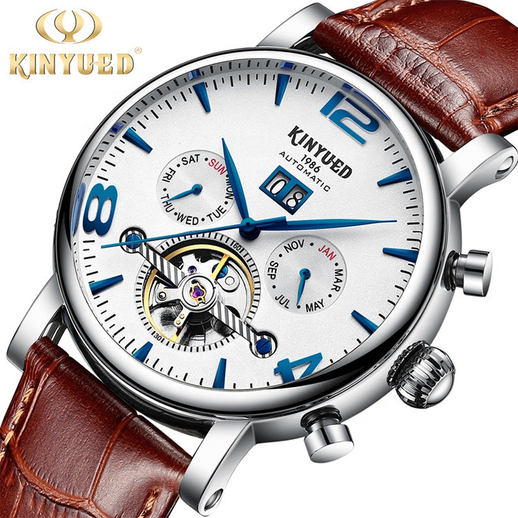 Mens luxury Watch Business waterproof / Mechanical Automatic Wrist watch KINYUED J030
