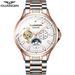 business watch men Automatic GUANQIN 2020