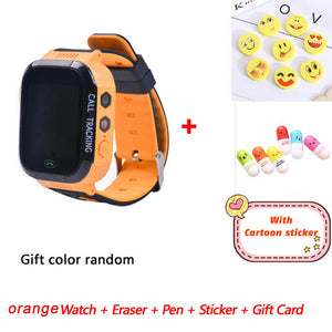Children Smart Watch Greentiger Q02 Camera Lighting Touch Screen