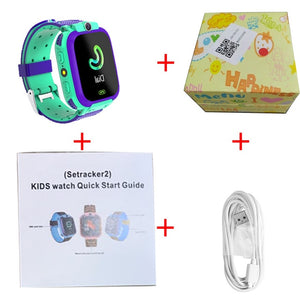 Kid Smart Watches Q12 LBS Baby Watch 1.44 Inch