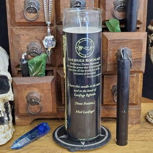 Lucifuge Rofocale - Demon Novenas Candle - 110 hour