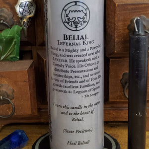 Belial - Demon Novenas Candle - 110 hour