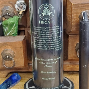 Hecate - Demon Novenas Candle - 110 hour