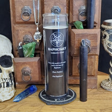 Load image into Gallery viewer, Baphomet - Demon Novenas Candle - 110 hour