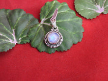 Load image into Gallery viewer, Moonstone set in .925 Silver Pendant