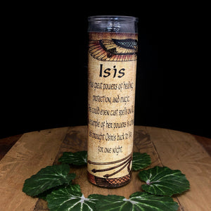 Isis Novena Candle - 110 hour