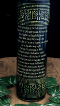 Load image into Gallery viewer, Brigid Novena Candle - 110 hour