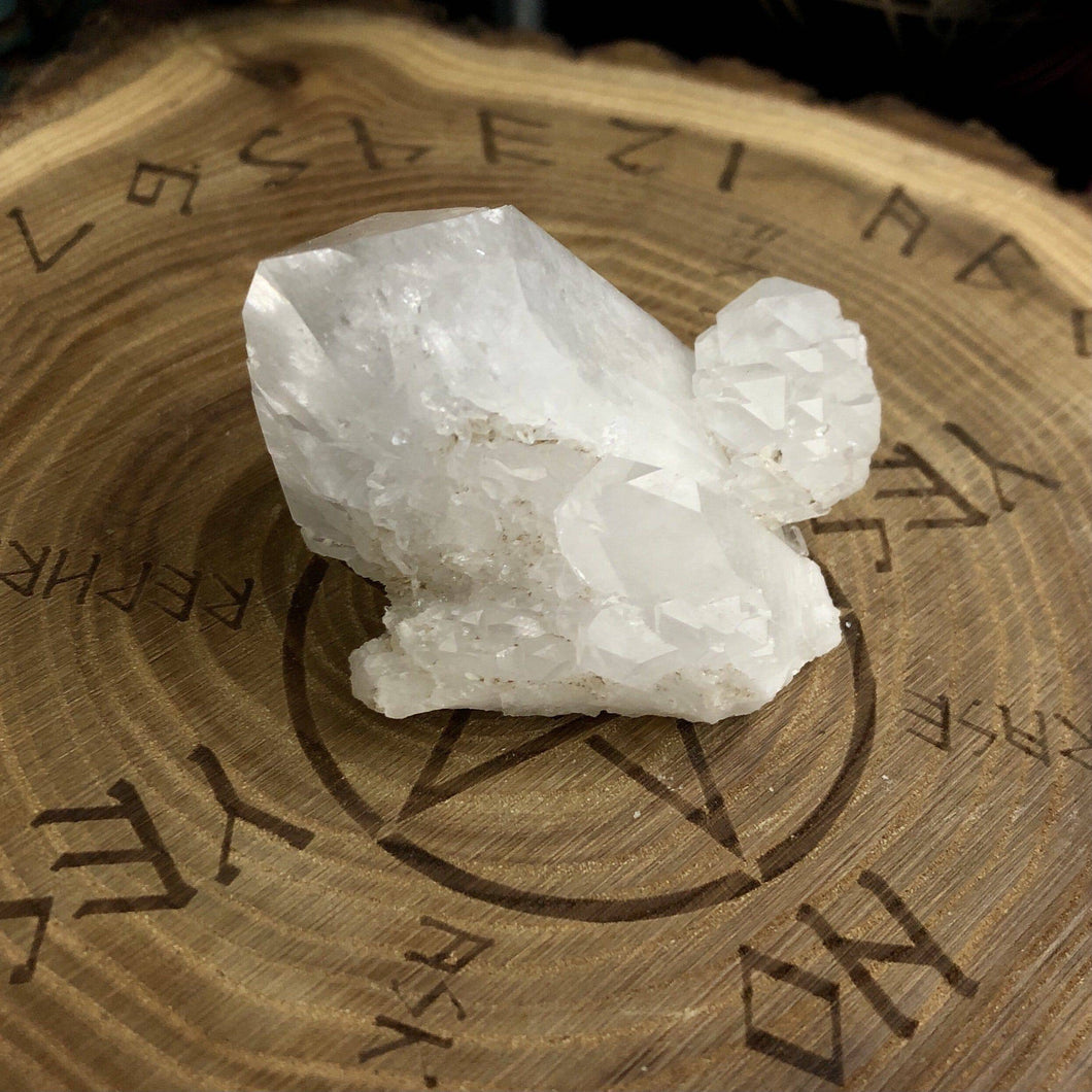 Clear Quartz Cluster QC24