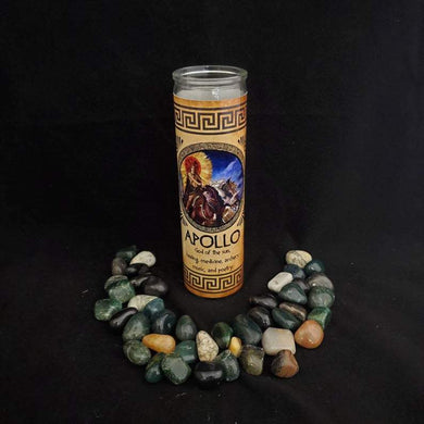 Apollo Novena Candle - 90 hour