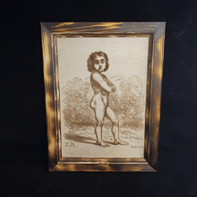 Load image into Gallery viewer, Lucifer framed engraving