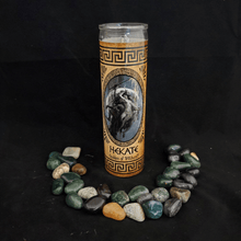 Load image into Gallery viewer, Hekate Novena Candle - 90 Hour