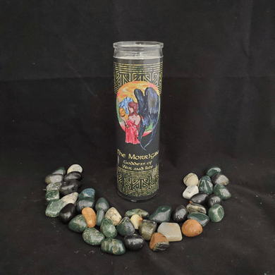 The Morrigan Novena Candle - 90 Hour