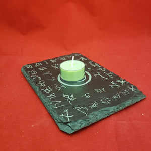 5x7 Slate altar tile w/ all Dukante spirits