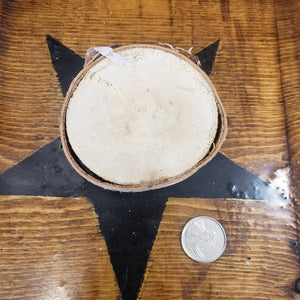 Furfur sigil with enn on live edge birch