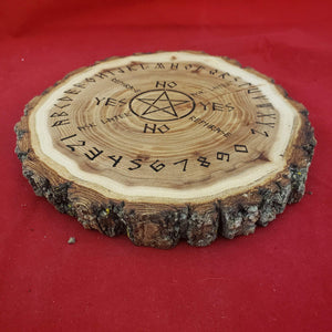 Pendulum dowsing board - Cottonwood