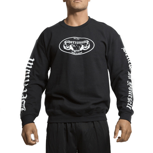 Derrimut 24:7 Crewneck Sweater - Black