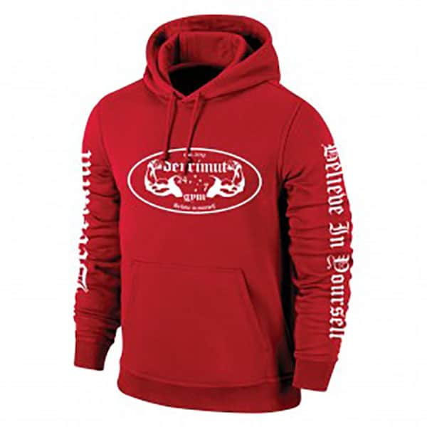 Derrimut 24:7 Classic Hoodie - Red