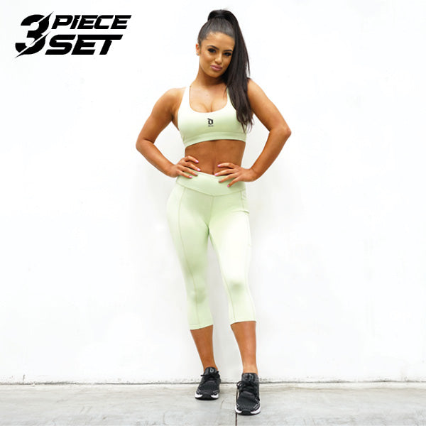 Derrimut 24: 7 Gym Ladies Premium Set - Lime