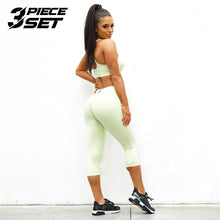 Load image into Gallery viewer, Derrimut 24: 7 Gym Ladies Premium Set - Lime