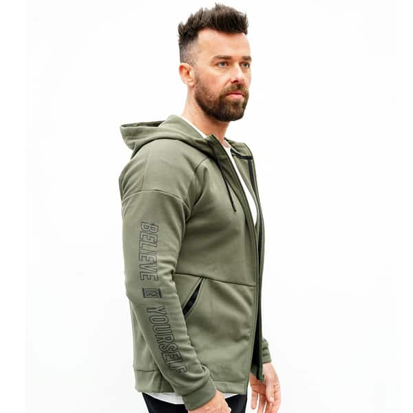 Derrimut 24:7 Gym Zip Up Jacket – Mens