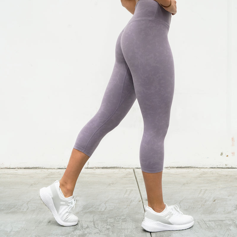 Derrimut 24:7 Gym 7/8 Leggings - Purple