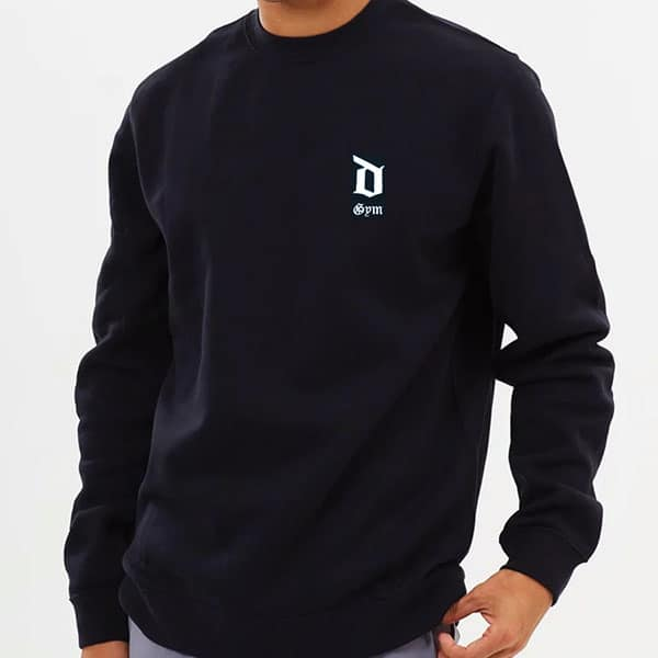Derrimut 24:7 Basics Crewneck Jumper - Black