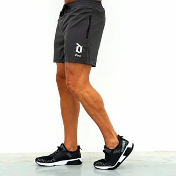 Derrimut 24:7 Gym Mens Performance Shorts - Grey