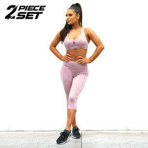 Derrimut 24: 7 Gym Ladies Premium Set - Purple