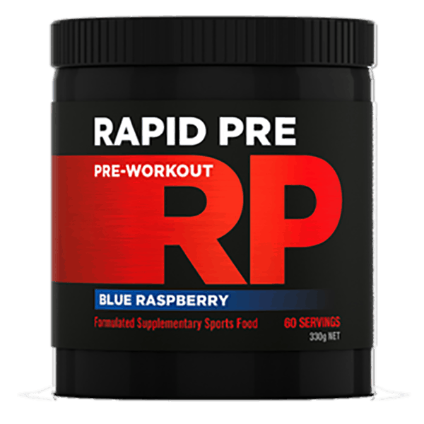 Rapid Supplements Pre-Workout Plus Free Loaded Shaker!