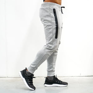 Derrimut 24:7 Gym Men's Slim Track Pants 2.0 - Grey