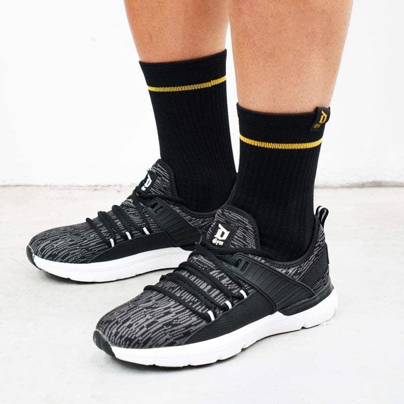 Derrimut 24:7 Gym Socks - Gold