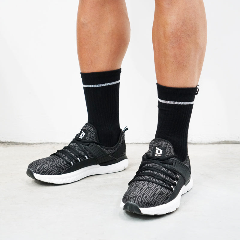 Derrimut 24:7 Gym Socks - White